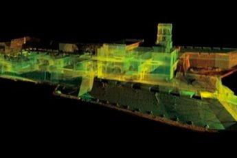 Escáner digitaliza ruinas arqueológicas